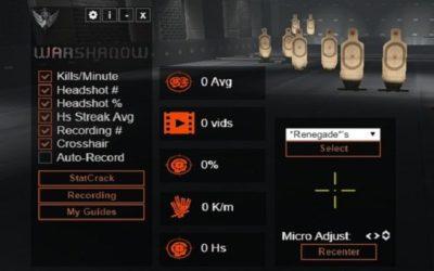 WarShadow — использование собственных прицелов в WF