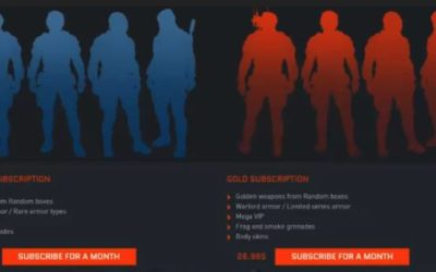 [Скоро в игре] Платные подписки Warface