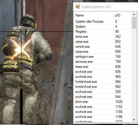 Инжектор Cobra Injector Ultimate для Варфейс и других игр