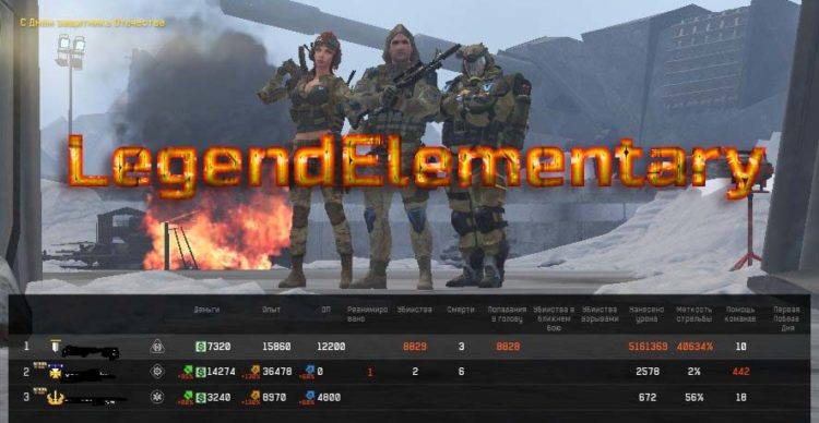 [Слив] LegendElementary — PVE чит WF